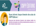 Newsletter CNPP Éditions