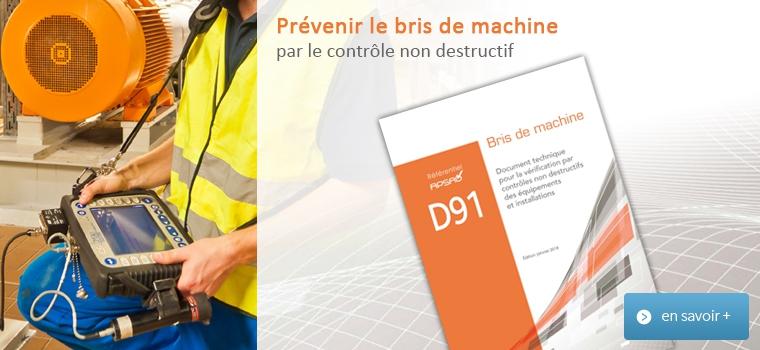Référentiel APSAD D91 Bris de machine