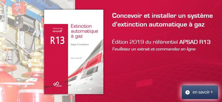Référentiel APSAD R13 - édition 2019