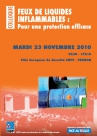 Feux de liquides inflammables:pour une protection efficace - 23/11/10