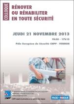 """""""Rénover ou réhabiliter en toute sécurité"""" du 21/11/13"""