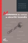 Maintenance des matériels de sécurité incendie - eBook