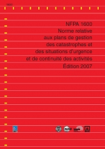 Norme NFPA 1600