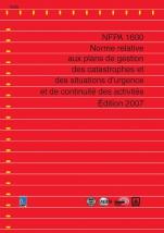 Norme NFPA 1600 ebook