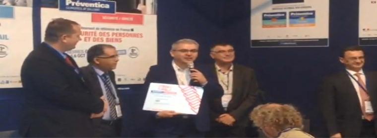 Permis de feu numérique Prix de l'Innovation 2016