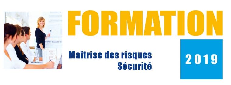 CNPP catalogue 2019 formation maîtrise des risques et sécurité