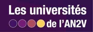 logo an2v universités qui auront lieu en janvier 2020