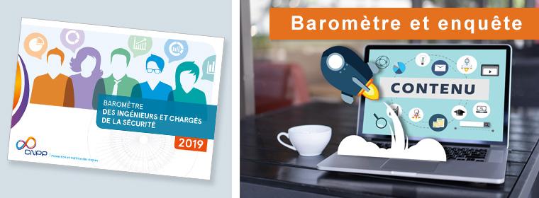 Baromètre des ingénieurs et chargés de la sécurité - 2ème édition - 2019