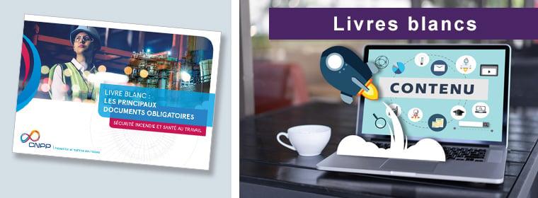 Livre blanc : Les principaux documents obligatoires en matière de sécurité incendie et santé au travail