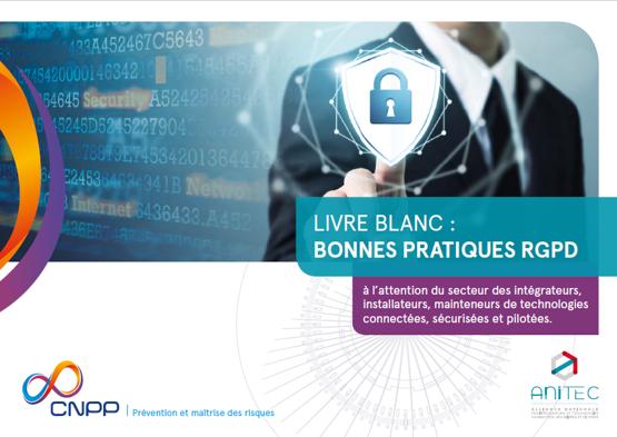 Partenariat ANITEC et CNPP : Livre blanc RGPD