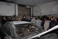 Expertise dans un garage