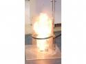 Laboratory demonstration and reconstruction of thermal phenomena