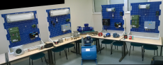 A wide range of ATEX-certified equipment for training technicians and supervisors