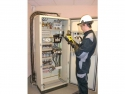 Scanning of a control cabinet by infrared thermography